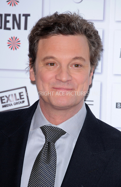 WWW.ACEPIXS.COM . . . . .  ..... . . . . US SALES ONLY . . . . .....December 5 2010, London....Colin Firth at the British Independent Film Awards held at Old Billingsgate Market on December 5 2010 in London....Please byline: FAMOUS-ACE PICTURES... . . . .  ....Ace Pictures, Inc:  ..Tel: (212) 243-8787..e-mail: info@acepixs.com..web: http://www.acepixs.com