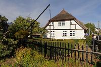 Verwaltungsgebäude der Mönchsguter Museen in Göhren auf Rügen, Mecklenburg-Vorpommern, Deutschland