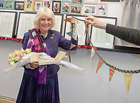 Camilla Duchess of Cornwall Visits Emmaus Greenwich Charity Shop