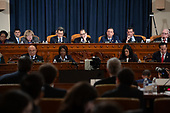 The United States House Judiciary Committee holds a hearing on the impeachment of US President Donald Trump on Capitol Hill in Washington, DC, December 4, 2019.<br /> Credit: Saul Loeb / Pool via CNP