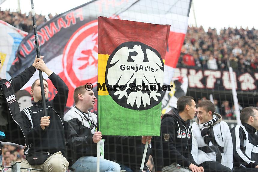 Fans von Eintracht Frankfurt - Eintracht Frankfurt vs. Bayer Leverkusen, Commerzbank Arena