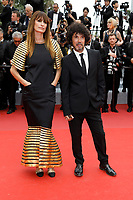 Caroline de Maigret and Yarol Poupaud attending the opening ceremony and screening of 'The Dead Don't Die' during the 72nd Cannes Film Festival at the Palais des Festivals on May 14, 2019 in Cannes, France