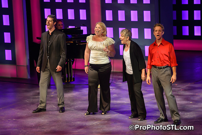 """Legally Hot"" fundraiser presented by STAGES St. Louis at Robert G Reim Theater in Kirkwood, MO on Aug 12, 2013."