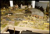 Dorman's RGS model train layout.<br /> RGS