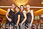 Pictured at the Style Secret event in the Hotel Europe in Killarnry on Saturday were Upfront Models Aoife Healy, Mihaela Lynch, Josie McCannon (Organiser)  and Dawn O'Sullivan.