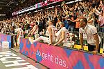 10.03.2019, RASTA Dome 2.0, VECHTA, GER, easycredit-bbl, RASTA Vechta vs  FC Bayern M&uuml;nchen, im Bild<br /> <br /> Jubel bei RASTA Vechta nach dem Sieg <br /> Foto &copy; nordphoto / Kokenge