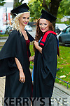 Beauty Therapy: Jordan McDonnell, Ballylongford, and Innis Daly, Rockchapell at the Kerry College of Further Education Graduations at the Brandon Hotel on Thursday.