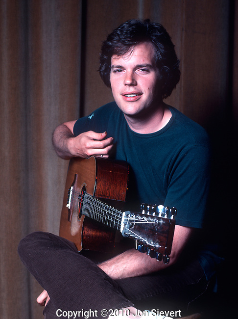 Leo Kottke, 1975. Widely known for his innovative fingerpicking style in unconventional tuning which draws on influences from blues, jazz, and folk music, and his syncopated, polyphonic melodies.