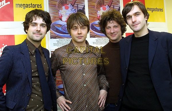 THE BLUETONES.at Virgin, Oxford St.Ref: JM.www.capitalpictures.com.sales@capitalpictures.com.© Capital Pictures