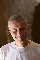 Pierre Ravaille Domaine Ermitage du Pic St Loup, Chateau Ste Agnes. Pic St Loup. Languedoc. Owner winemaker. France. Europe.