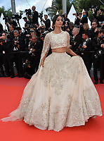 Sonam Kapoor at the gala screening for &quot;BLACKKKLANSMAN&quot; at the 71st Festival de Cannes, Cannes, France 14 May 2018<br /> Picture: Paul Smith/Featureflash/SilverHub 0208 004 5359 sales@silverhubmedia.com