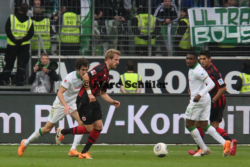 Stefan Aigner (Eintracht) - Eintracht Frankfurt vs. SV Werder Bremen