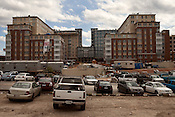 June 6, 2012. Raleigh, NC. The Brewery, the longstanding rock 'n' roll club on Hillsborough Street, was bulldozed to make way for the massive Stanhope student housing project on the campus of NCSU.