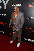 NEW YORK, NY - SEPTEMBER 12: Quincy Jones attends the New York Premiere of Netflix&rsquo;s Quincy at The Museum of Modern Art on September 12, 2018 in New York City. <br /> CAP/MPI/RH<br /> &copy;RH/MPI/Capital Pictures