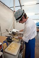 A IST from Lichtenstein is working in the Lichtenstein house. (Patrik Tanner/TPA/EQ Images)