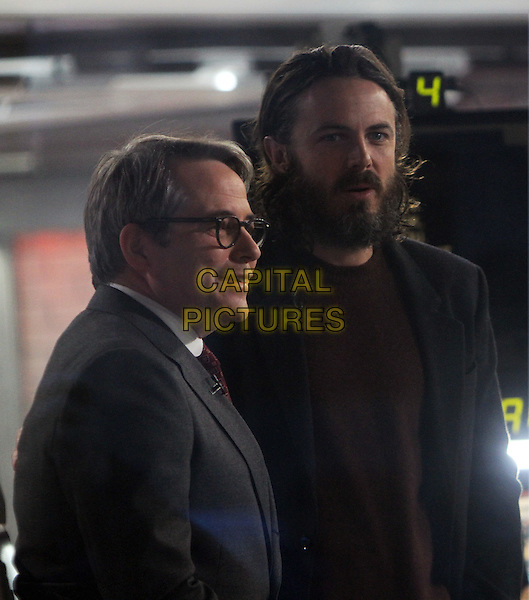 NEW YORK, NY November 18:Matthew Broderick , Casey Affleck  at Today Show to talk about their new movie in New York City.November 18, 2016. <br /> CAP/MPI/RW<br /> &copy;RW/MPI/Capital Pictures