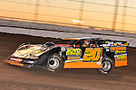 Feb 17, 2014; 6:22:39 PM;  Barberville, FL, USA;  World of Outlaws Late Model Series for 43rd Annual DIRTcar Nationals presented by Summit Racing Equipment at Volusia Speedway Park.  Mandatory Credit: (thesportswire.net)
