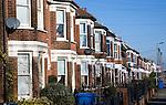 Nineteenth century terraced housing, Murray Road, Ipswich, Suffolk