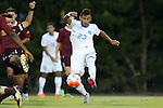 14 August 2015: North Carolina's Andy Lopez. The University of North Carolina Tar Heels hosted the Winthrop University Eagles at Fetzer Field in Chapel Hill, NC in a 2015 NCAA Division I Men's Soccer preseason exhibition. North Carolina won the game 4-1.