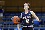 13 November 2016: Penn's Kasey Chambers. The Duke University Blue Devils hosted the University of Pennsylvania Quakers at Cameron Indoor Stadium in Durham, North Carolina in a 2016-17 NCAA Division I Women's Basketball game. Duke defeated Penn 68-55.