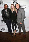 VANITY FAIR's George Wayne,AMW PR's Angela Trostle and Adam at   The Exclusive After Party of the Real Housewives of New York Premiere Hosted by Dorinda Medley Held at VIP 557