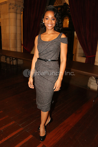 NEW YORK, NY - JANUARY 18: Anika Noni Rose backstage at MLK Day January 18, 2016 at Riverside Church in New York City. Credit: Walik Goshorn/MediaPunch