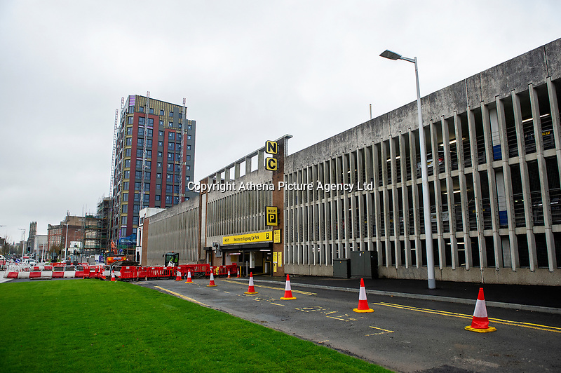 Pictured: A general view of The Kingsway in Swansea, Wales, UK. Thursday 31 October 2019