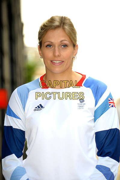 LONDON, ENGLAND - SEP 01: Gemma Gibbons attends a photocall with Fitness First who partners with Team GB to launch the new Team GB Pro Athlete Fitness Programme on September 1st, 2014 in London, England.<br /> CAP/CJ<br /> &copy;Chris Joseph/Capital Pictures