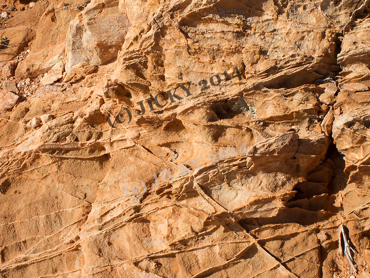 Close-up of Navajo sandstone