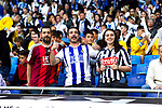 Real Sociedad's supporters during La Liga match. May, 18th,2019. (ALTERPHOTOS/Alconada)