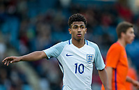 Marcus Edwards (Tottenham Hotspur) of England U20 during the International friendly match between England U20 and Netherlands U20 at New Bucks Head, Telford, England on 31 August 2017. Photo by Andy Rowland.