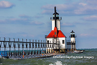64795-02818 St. Joseph North Pier Lighthouses St. Joseph, MI