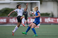 Seattle, WA - Saturday July 22, 2017: Raquel Rodriguez during a regular season National Women's Soccer League (NWSL) match between the Seattle Reign FC and Sky Blue FC at Memorial Stadium.