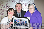 Paudie Healy who presented Sr Pius and her niece Martina Healy with an award at the Kerry Stars awards in the Malton Hotel on Sunday