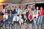 KEY TO THE DOOR: Ma?ire Deane (seated 4th left), Camp celebrating her 21st birthday with a large group of family and friends at Fitzgearld's Junction bar on Saturday night.   Copyright Kerry's Eye 2008
