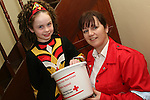 Amy Moroney with Suzanne O'Keefe from the Red Cross at the Dunleer Variety Performance Fundraiser for Haiti Victims...Photo NEWSFILE/Jenny Matthews.(Photo credit should read Jenny Matthews/NEWSFILE)....This Picture has been sent you under the condtions enclosed by:.Newsfile Ltd..The Studio,.Millmount Abbey,.Drogheda,.Co Meath..Ireland..Tel: +353(0)41-9871240.Fax: +353(0)41-9871260.GSM: +353(0)86-2500958.email: pictures@newsfile.ie.www.newsfile.ie.FTP: 193.120.102.198.