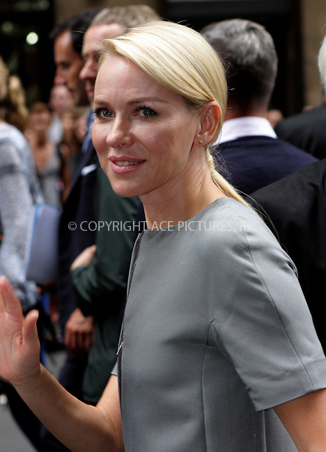 WWW.ACEPIXS.COM . . . . .  ....September 15 2011, New York City....Naomi Watts arriving at the Calvin Klein Collection Spring 2012 fashion show during Mercedes-Benz Fashion Week on September 15, 2011 in New York City.....Please byline: NANCY RIVERA- ACEPIXS.COM.... *** ***..Ace Pictures, Inc:  ..Tel: 646 769 0430..e-mail: info@acepixs.com..web: http://www.acepixs.com