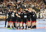 10.01.2019, Mercedes Benz Arena, Berlin, GER, Handball WM 2019, Deutschland vs. Korea, im Bild <br /> Deutscher-Spielerkreis<br />      <br /> Foto © nordphoto / Engler