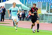 September 10th 2017, Olimpic Stadium, Rome, Italy; Serie A football league, Lazio versus AC Milan;   Fabio Borini breaks forward with the ball