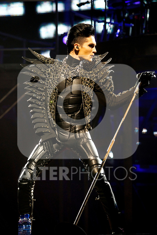Tokio Hotel perform at Palacio de los Deportes in Madrid