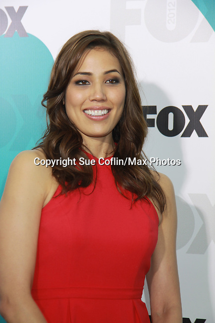 "Bones' Michaela Conlin ""Angela Montenegro"" at The Fox 2012 Programming Presentation on May 14, 2012 at Wollman Rink, Central Park, New York City, New York. (Photo by Sue Coflin/Max Photos) 917-647-8403"