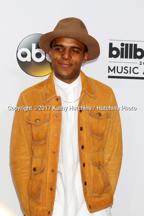 LAS VEGAS - MAY 21:  Christopher Jordan Wallace at the 2017 Billboard Awards Press Room at the T-Mobile Arena on May 21, 2017 in Las Vegas, NV