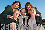 Leesha Meehan, Danny Houlihan, Ballybunion and Teresa Browne, Kilmalock, with Isabella O'Mahoney, Ballybunion and Kay O'Connor, Ballyduff receiving their PLC student's awards from Minister Batt O'Keeffe at the Tintean Theatre Ballybunion on Friday evening.   Copyright Kerry's Eye 2008