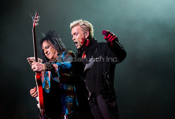 LAS VEGAS, NV - February 21: ***HOUSE COVERAGE***  Billy Idol performs at The Chelsea at The Cosmopolitan of Las Vegas in Las Vegas, NV on February 21, 2015. Credit:  Erik Kabik Photography/MediaPunch