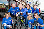 The organisors of The Longest Day challenge the launch in Tom McCarthy's bar Castleisland on Monday evening front l-r: Nora Conway Pieta house Clinical manager, Eileen Greaney, Fagin. Back row: Jerry Fagin, Denny Greaney, Norma Moran and Tom McCarthy