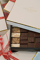 Europe/France/Ile deFrance/78/Yvelines/Versailles: les chocolats de Franck Daubos patissier chocolatier 35 rue Royale
