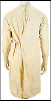 BNPS.co.uk (01202 558833)<br /> Pic :   RRAuctions/BNPS<br /> <br /> A hospital gown worn by legendary rocker Kurt Cobain during an iconic Reading Festival set has emerged for sale for &pound;40,000. ($50,000)<br /> <br /> The Nirvana frontman chose the unusual attire to poke fun at media speculation about his wellbeing ahead of their performance on August 30, 1992.<br /> <br /> He was pushed on stage in a wheelchair and pretended to collapse before jumping up and delivering a blistering set considered to be one of the band's finest.<br /> <br /> Two years later Cobain committed suicide and his on-off partner Courtney Love gave the gown to a shocked fan who had attended a vigil for him.<br /> <br /> The fan kept hold of it for 25 years before deciding now to consign it for sale with US auction house RR Auctions.