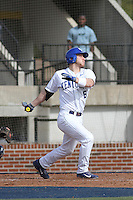 University of Kentucky Wildcats Matt Reida #6 at bat during a game against the University of Virginia Cavaliers at Brooks Field on the campus of the University of North Carolina at Wilmington on February 14, 2014 in Wilmington, North Carolina. Kentucky defeated Virginia by the score of 8-3. (Robert Gurganus/Four Seam Images)