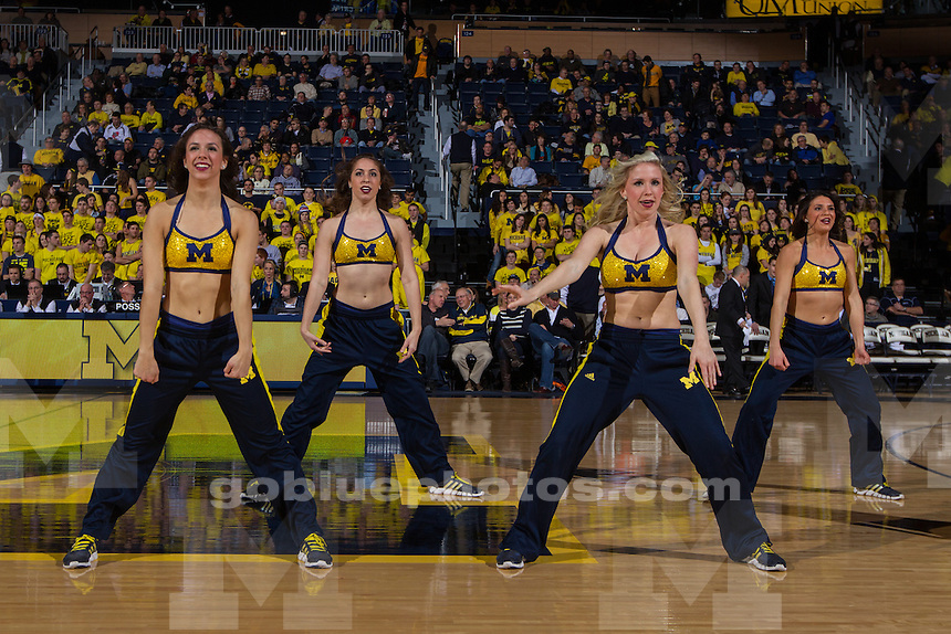 The University of Michigan men's basketball team defeated Penn State, 80-67, at Crisler Center on Jan. 14, 2014 in Ann Arbor, Michigan.