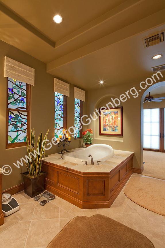 Stock Photo Of Master Bath En Suite Bathroom Stock Photography